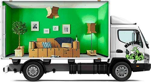removalists Perth moving van